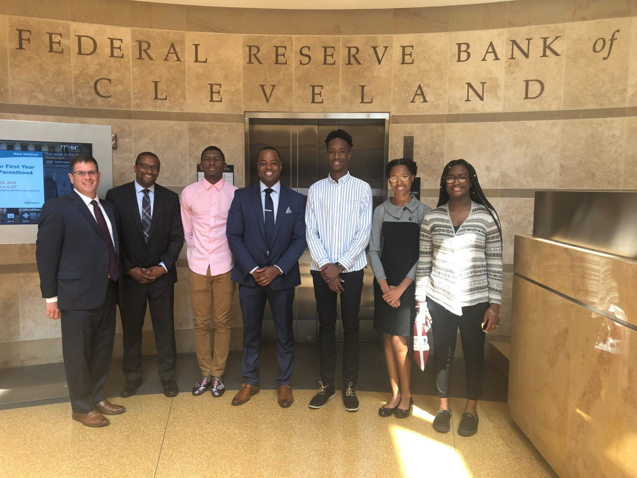 Future Connections - Federal Reserve - Tour 21 - Group Picture